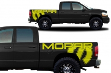 Dodge Ram Truck 2002-2008 Custom Vinyl Decal - MOPAR