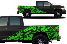 Dodge Ram Truck 2002-2008 Custom Vinyl Decal - NIGHTMARE