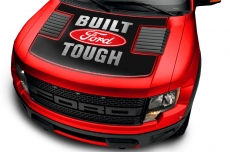 Ford Raptor F150 SVT Truck Full Hood Wrap Graphic Sticker Decal 2009-2016