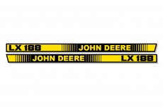 Hood Stripe Decal Set for John Deere LX172 LX173 LX176 LX178 LX188