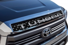 Printed Toyota Tundra Grill Graphic Cover Decal Accessories 2014-2017